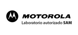Motorola logo laboratorio autorizado