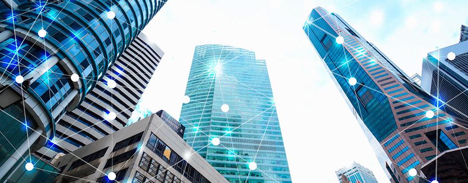 hada de edificios empresariales